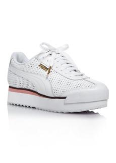 PUMA Women's Roma Amor Perforated Platform Sneakers