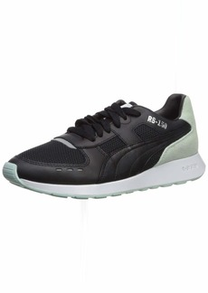PUMA Women's RS-150 Sneaker Black-fair Aqua  M US