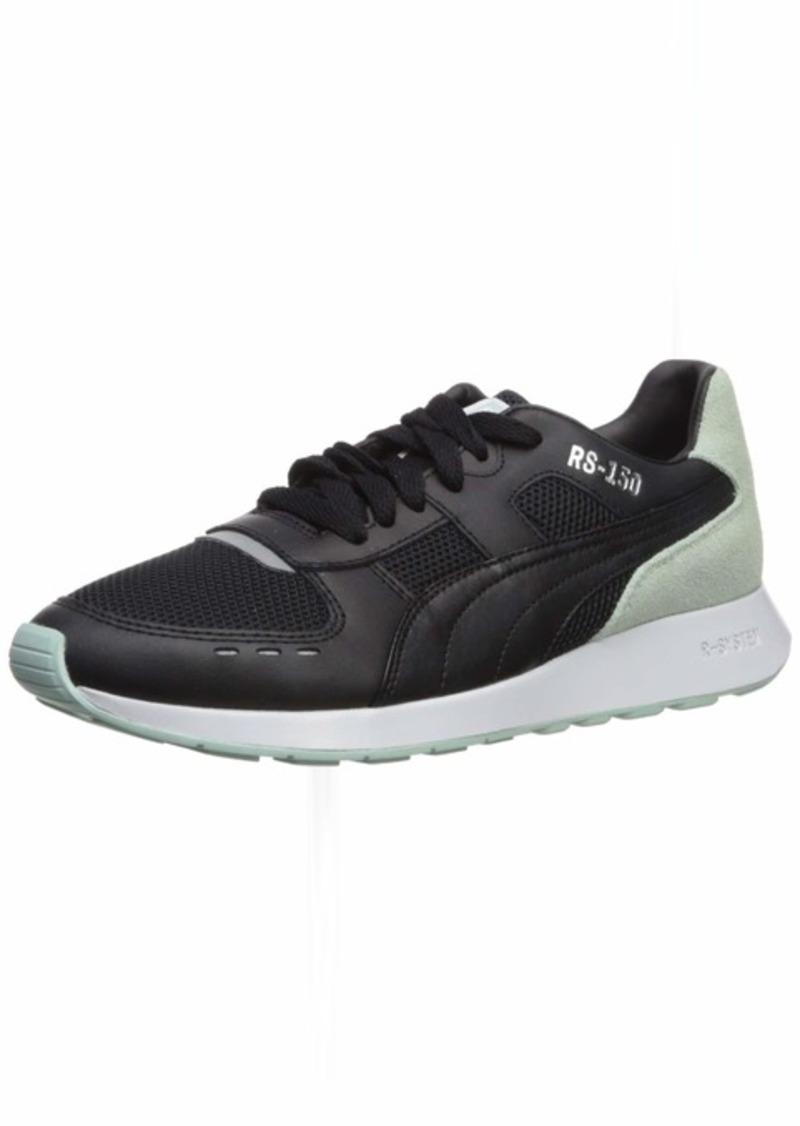 PUMA Women's RS-150 Sneaker Black-fair Aqua  M US
