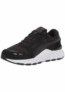 PUMA Women's RS 2.0 Sneaker Black Black White