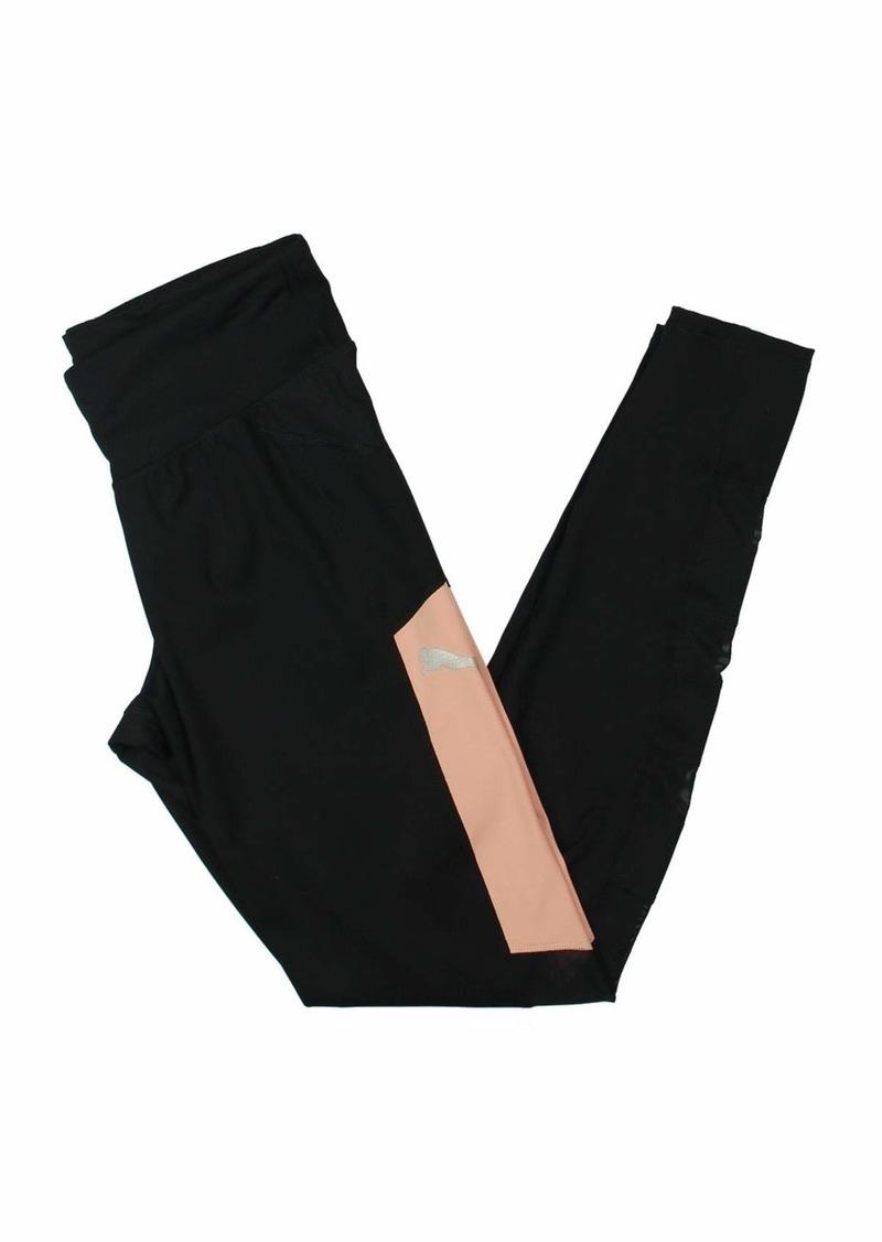 PUMA Women's Sharp Shape Tight Leggings Black/Peach Beige M