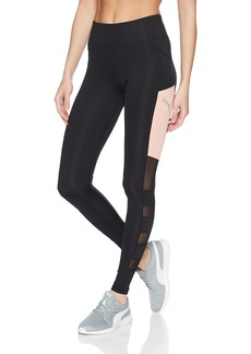 PUMA Women's Sharp Shape Tight Leggings Black/Peach Beige XXS