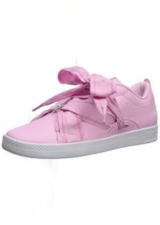 PUMA Women's Smash Sneaker palepink-Silver  M US