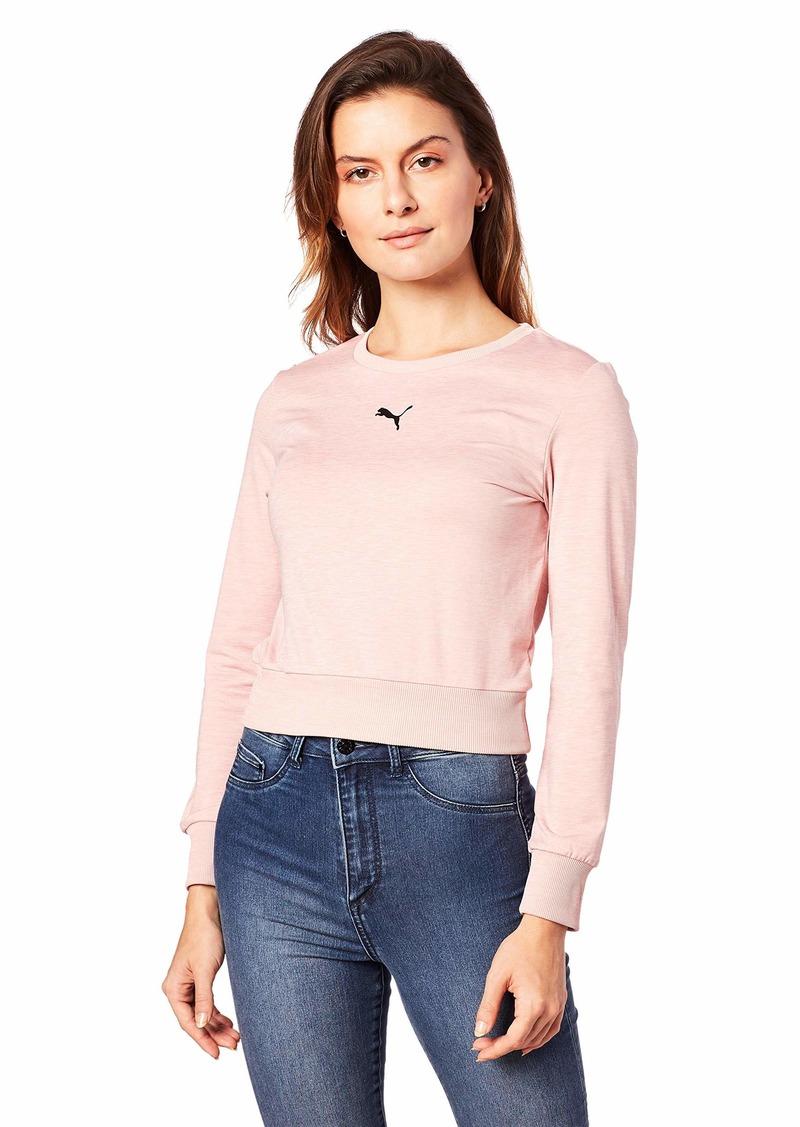 PUMA Women's Soft Sports Long Sleeve TEE Shirt  XL
