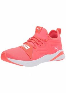 PUMA Women's SOFTRIDE RIFT Breeze Running Shoe Fiery Coral White