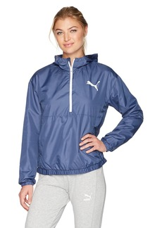 PUMA Women's Spark 3/4 Zip Windbreaker  L
