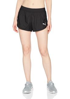 PUMA Women's Spark Gym Shorts Black S