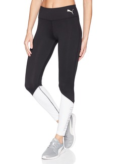 PUMA Women's Spark Logo Tights Black White S