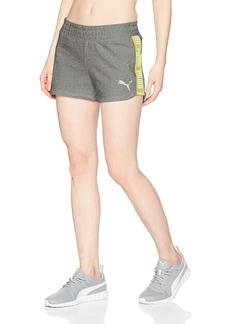 PUMA Women's Spark Shorts  Gray Heather M