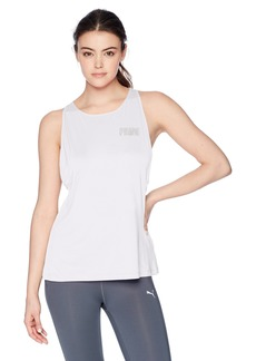 PUMA Women's Spark Tank Top White XS