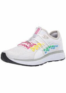 PUMA Women's Speed 600 FUSEFIT Sneaker White  M US