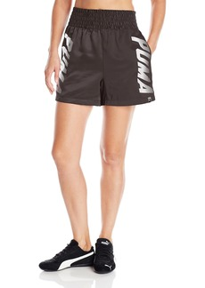 PUMA Women's Speed Font Shorts Black
