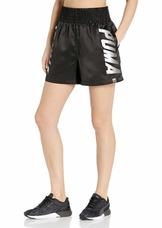 PUMA Women's Speed Font Shorts Black/Black