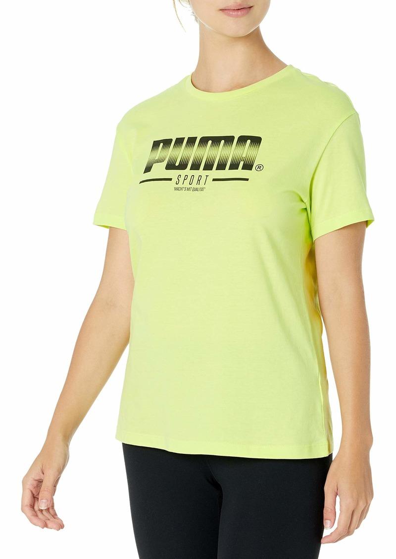 PUMA Women's Sport Graphic Tee  XS