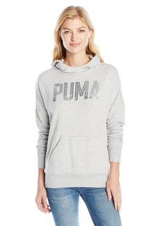 PUMA Women's Style Foil Hoodie