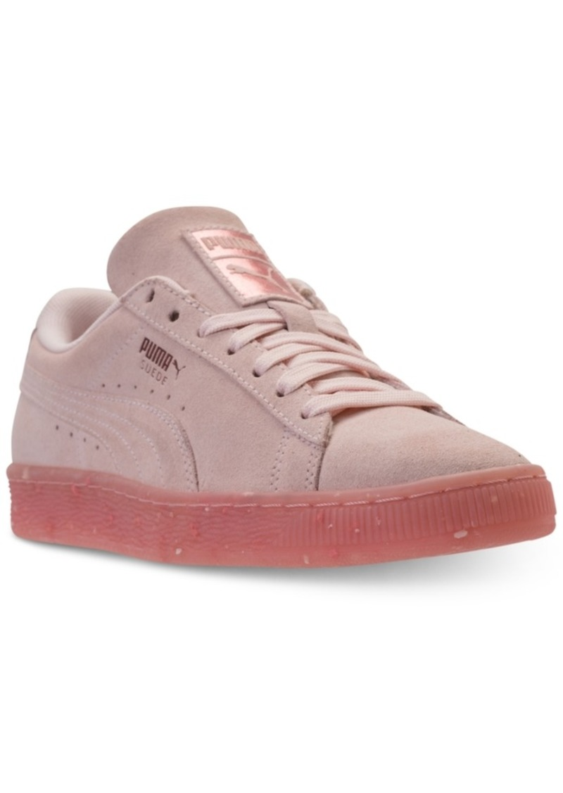 Puma Puma Women s Suede Classic Glitz Casual Sneakers from Finish ... 0a2277659
