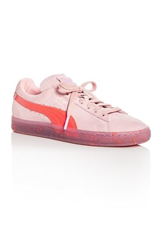 PUMA x Sophia Webster Women's Suede Lace Up Sneakers