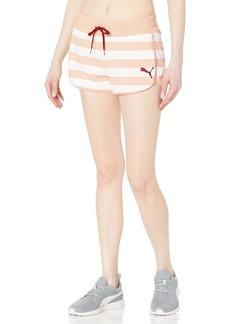 PUMA Women's Summer Stripes AOP Shorts