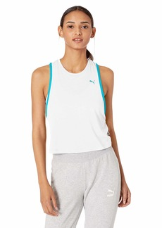 PUMA Women's Summer Tank Top White