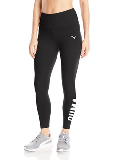 PUMA Women's Swagger 3/4 Leggings Black White M
