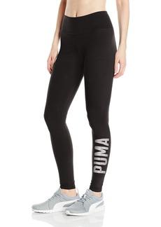 PUMA Women's Swagger Leggings Black/Silver L