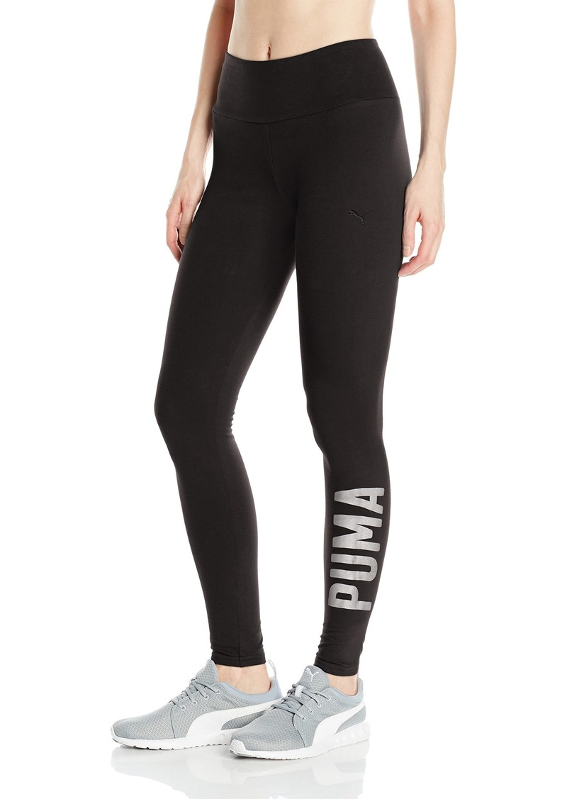 352700cdc604e9 Puma PUMA Women's Swagger Leggings Black/Silver M | Casual Pants