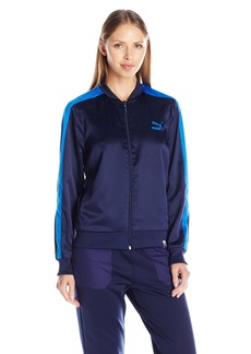 PUMA Women's T7 Satin Track Jacket