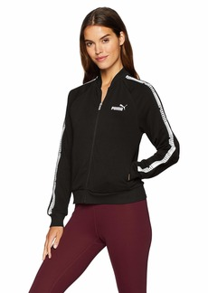 PUMA Women's Tape Full Zip Jacket French Terry  M