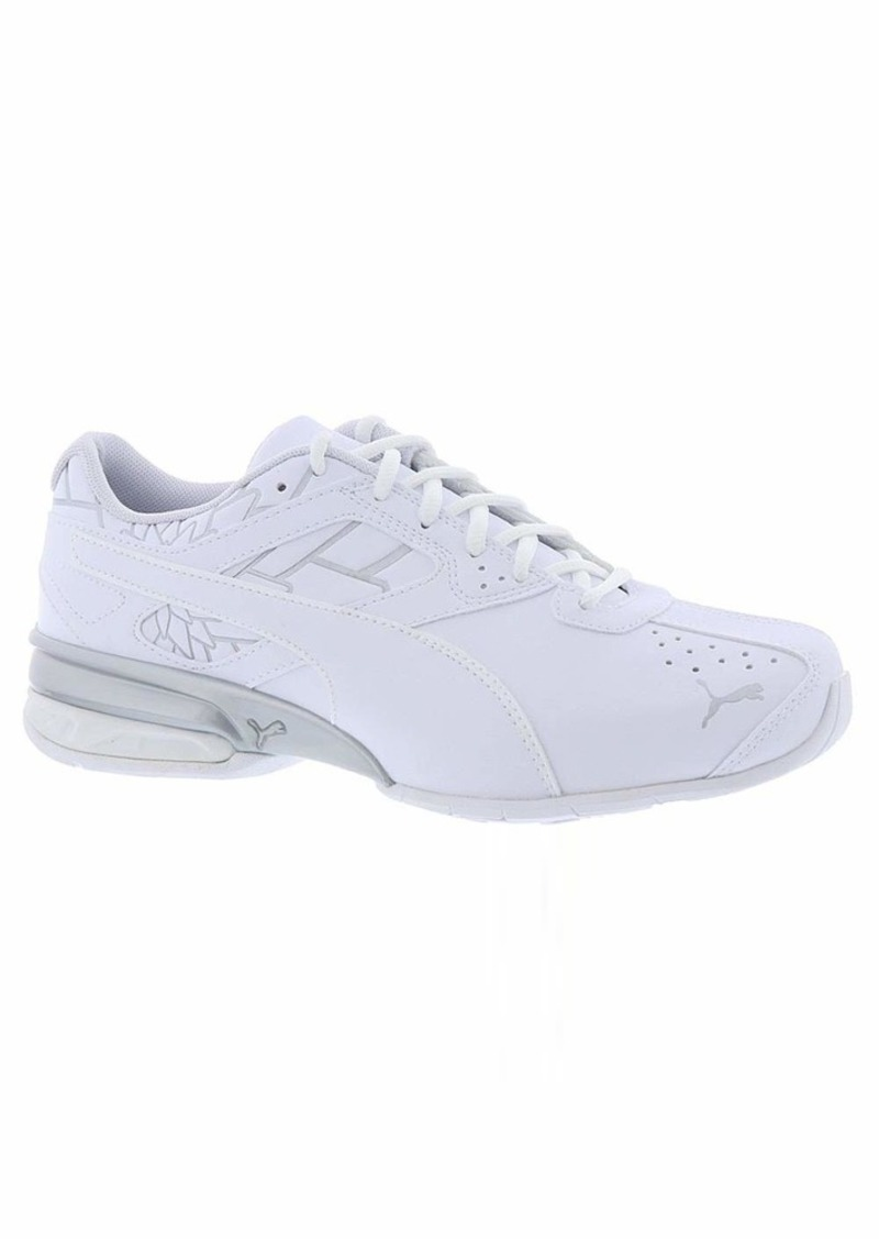 PUMA Women's Tazon 6 Sneaker White Silver  M US