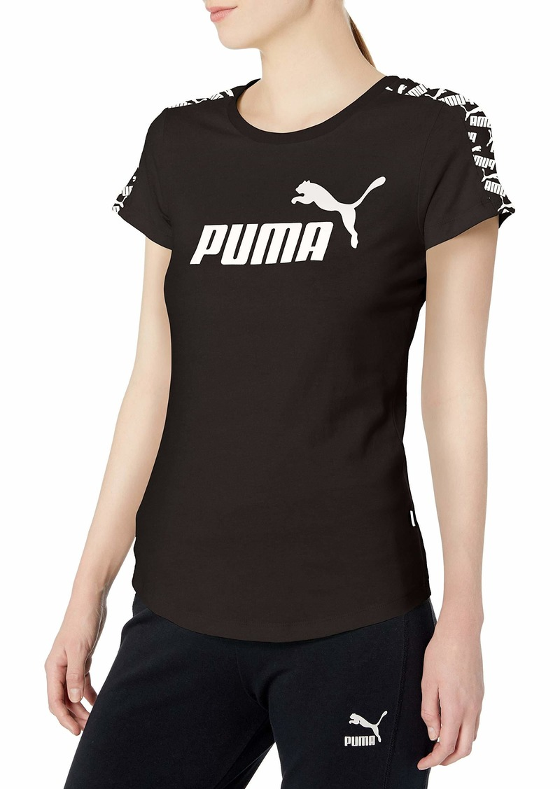 PUMA Women's Amplified T-Shirt puma Black S