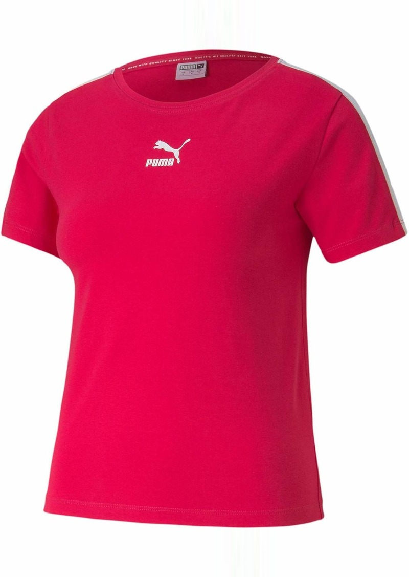 PUMA Women's Classics T7 Tight T-Shirt