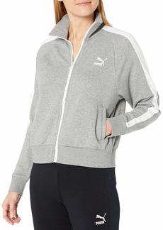 PUMA Women's Classics T7 Track Jacket  Gray Heather M