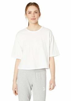 PUMA Women's Trail Blazer T-Shirt White M