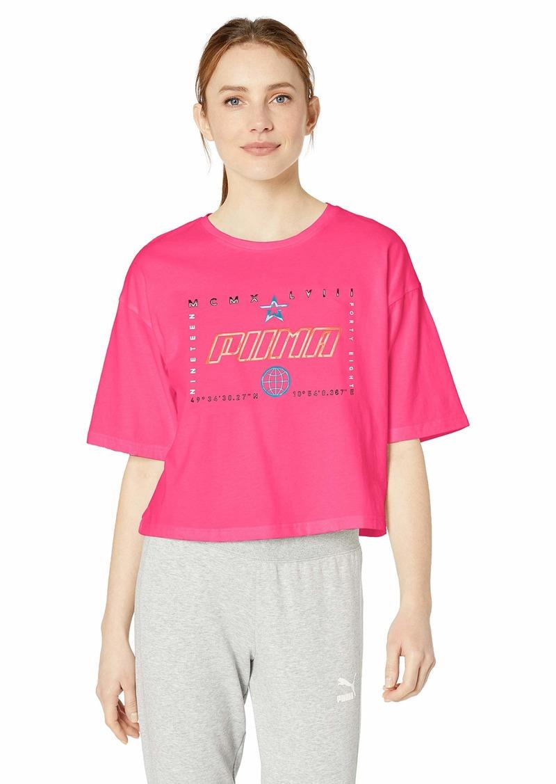 PUMA Women's Trail Blazer Tee Shirt  M