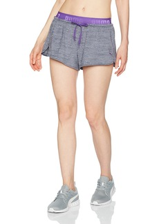PUMA Women's Transition Drapey Shorts  XS