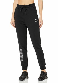 PUMA Women's Trend All Over Print Knitted Pants  S