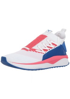 PUMA Women's Tsugi JUN Multi WN's Sneaker White-Paradise Pink-Nebula Blue  M US