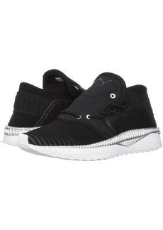 PUMA Women's Tsugi Shinsei Evoknit Wn Sneaker Black-Asphalt White  M US