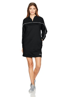 PUMA Women's Turtleneck Crew Dress Black XL