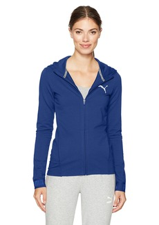 PUMA Women's Urban Sports Full Zip Hoodie  S