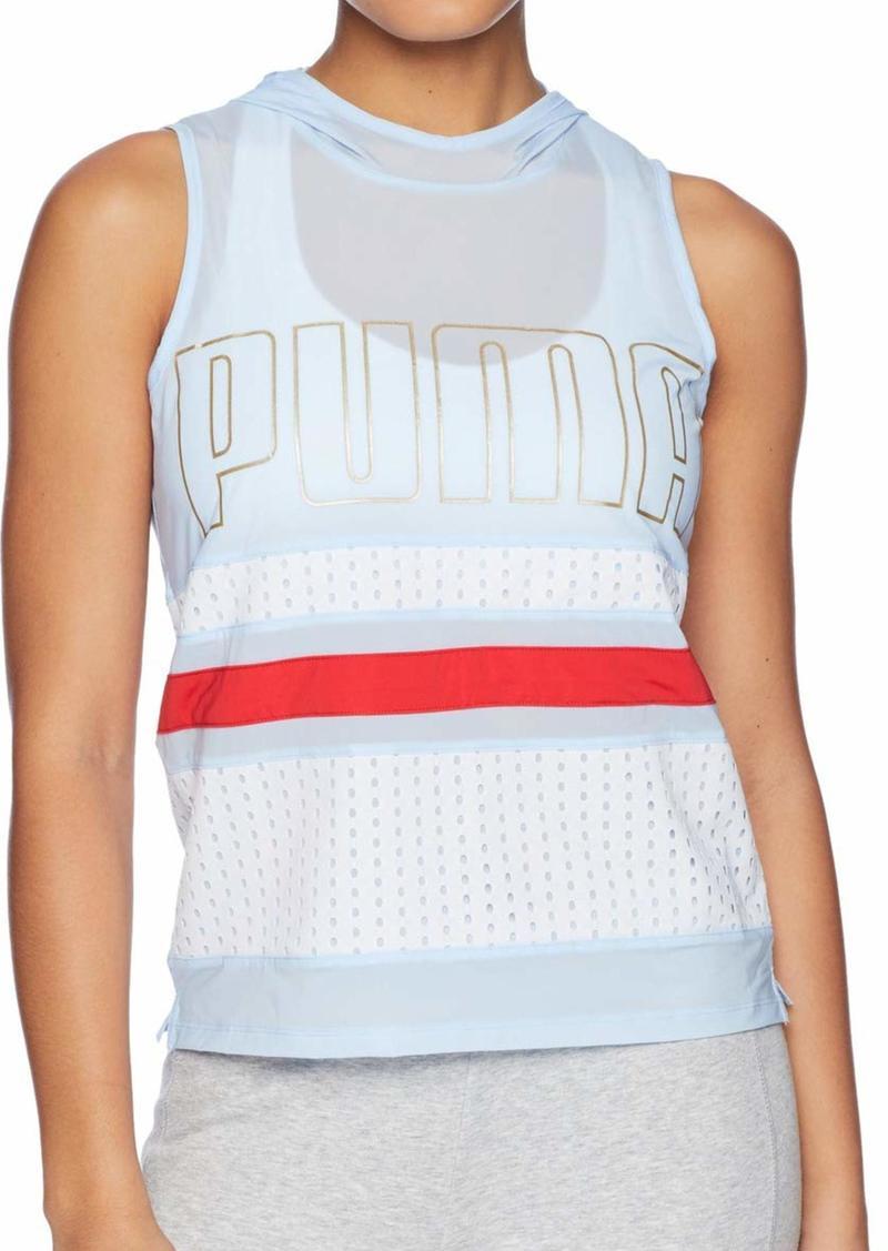 PUMA Women's Varsity Sleeveless Coverup  S