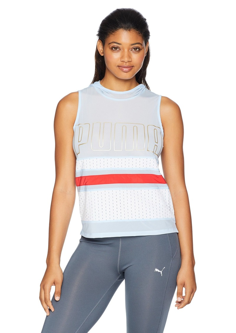PUMA Women's Varsity Sleeveless Cover UP  XS