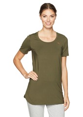 PUMA Women's Velvet Rope Layering Tunic Top  S