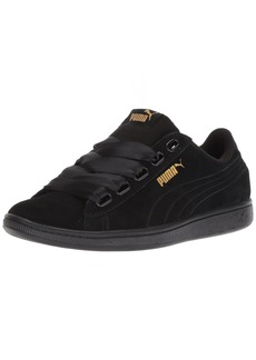 PUMA Women's Vikky Ribbon S Sneaker Black