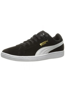 PUMA Women's Vikky Sfoam Fashion Sneaker Black White  M US