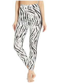 PUMA Women's Wild Pack Leggings White/Zebra AOP S