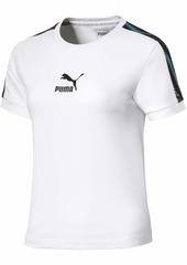 PUMA Women's Wild Pack T-Shirt White S