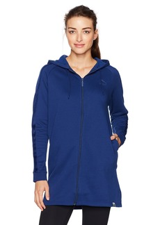 PUMA Women's Winterized Archize Logo Full Zip Hoodie  M