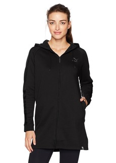 PUMA Women's Winterized Archize Logo Full Zip Hoodie  S