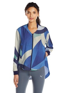 PUMA Women's X Careaux Jacket White Careaux AOP S